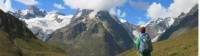 Views of Freney Pillar on the Tour du Mont Blanc |  <i>Sarah Hunt</i>