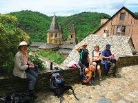 Picnic in Conques